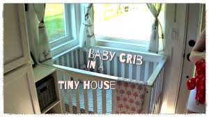Dylan Mini Crib by Baby Crib In A Tiny House Youtube