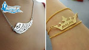 customized gold bracelets customized necklace bracelet gosawa beirut deal