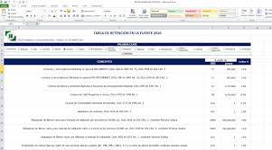 retencion en la fuente tabla 2016 accex tabla de retención en la fuente 2017 excel pdf