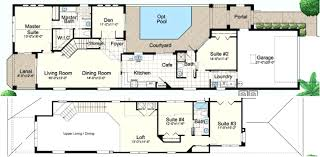 floor plans with courtyard courtyard pool home plans house plans with courtyards luxury house