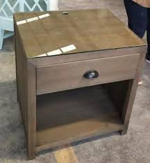 Hospitality Bedroom Furniture by Glass Top Wooden Night Stand Bed Side Table Hospitality Casegoods
