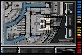 star trek enterprise floor plans enterprise nx 01 deck plans star trek pinterest deck plans