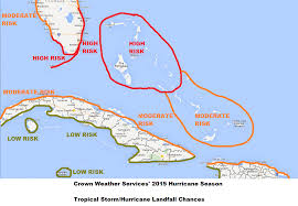 Southern Caribbean Map by The 2015 Atlantic Hurricane Season Ambergris Caye Belize Message