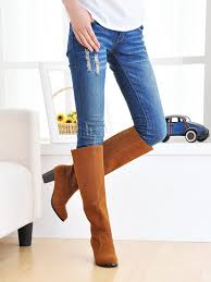 womens boots low heel large size boots the knee boots low heel toe