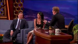 Show Me Your Boobs Meme - nicole scherzinger busts conan for staring at her boobs youtube
