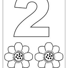 preschool coloring pages with numbers number coloring pages preschool all about coloring pages literatured