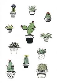 drawn plant cute pencil and in color drawn plant cute