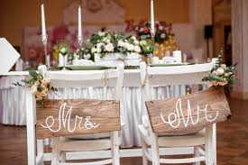 his and hers wedding chairs 16 chair back decor ideas for your wedding diy