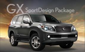 lexus club usa lexus usa releases gx 460 sportdesign package lexus enthusiast