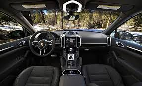 porsche suv 2017 2017 porsche cayenne s e hybrid test review car and driver