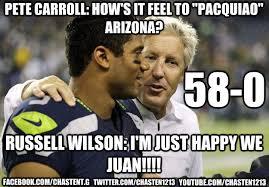 Russell Wilson Meme - russell wilson pacquiao memes quickmeme