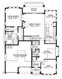 craftsman style house plan 3 beds 2 50 baths 1884 sq ft plan