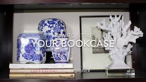 style a bookshelf designer tips easy way how to style a