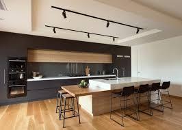 cuisine moderne et noir cuisine et bois un espace moderne et intrigant