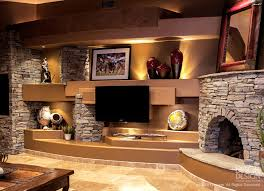Custom Media Wall Designs With FIreplaces By DAGR Design - Fireplace wall designs