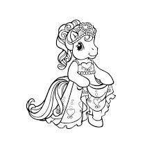 97 dessins de coloriage poney à imprimer