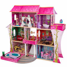 interior exciting kidkraft dollhouse for kid toys ideas