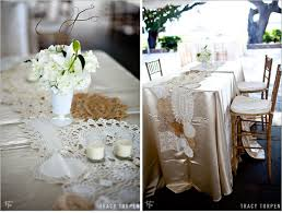 lace table runners wedding lace doily wedding table wedding tables lace table runners and