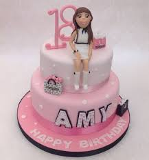 top shop 18th birthday cake two tier vanilla cake with fondant