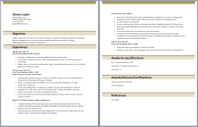 40 job winning web developer resume samples vinodomia
