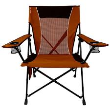 Orange Chair by Dual Lock Chair Orange Kijaro 80071 Folding Chairs Camping
