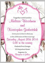 Camouflage Wedding Invitations Pink Camo Bridal Shower Invitation Real Tree Bridal Shower Invite