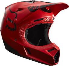 fox motocross kits fox racing 2017 v3 moth le helmet red black fox racing
