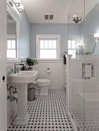 black and white tile bathroom ideas this versatile vintage is back in bathrooms everywhere