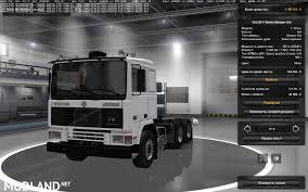 white volvo truck volvo f series f12 u2013 f16 mod for ets 2