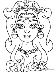 princess tiara coloring pages hellokids com