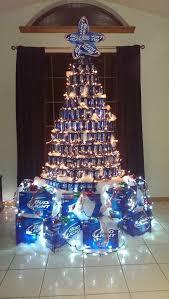 bud light beer can christmas tree christmas pinterest bud