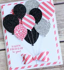 punch art happy birthday card featuring stampin up new party