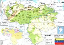 Venezuela World Map by Venezuela