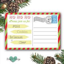 2 free printable cookie exchange invitations ilona u0027s passion