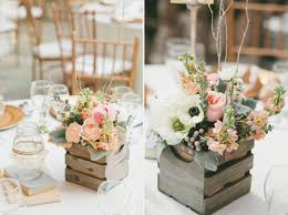 rustic center pieces rustic centerpieces achor weddings