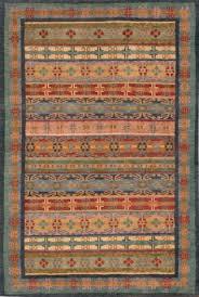Tibetan Area Rug Gangchen Tibetan Wool Area Rug Tibetan Trellis Blue Green A