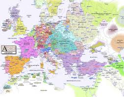 Political Map Of Italy by Map Of Europe