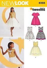 girls party dress pattern ebay