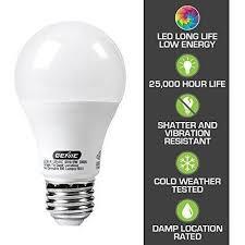 60 watt light bulb lumens genie led garage door opener light bulb 60 watt 800 lumens ledb1