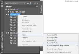 Architectural Drawing Sheet Numbering Standard by 7 Benefits Of Using Autocad Sheet Set Cadnotes