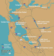 Oakland Ca Map Fastrak