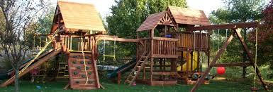 Home Depot Playset Installation Outdoors Tremendous Cedar Summit Playset For Cool Kids Playground