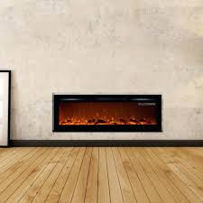 fresno 72 in media console electric fireplace white center real
