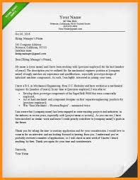 awesome us airforce mechanical engineer cover letter gallery