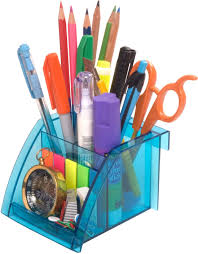 flipkart com solo 3 compartments resin pen stand set of 4