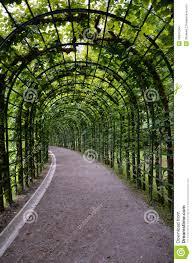 trellis tunnel germany linderhof stock images image 26847044