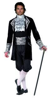 baroque vampire costume for men