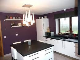 mur cuisine aubergine davausnet cuisine blanche mur aubergine avec