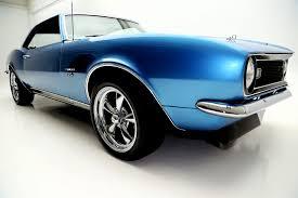blue chevrolet camaro 1968 chevrolet camaro uu lemans blue 4 spd