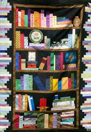 Bookshelf Quilt Pattern Featuring Ala Biblioquilters Library As Incubator Project